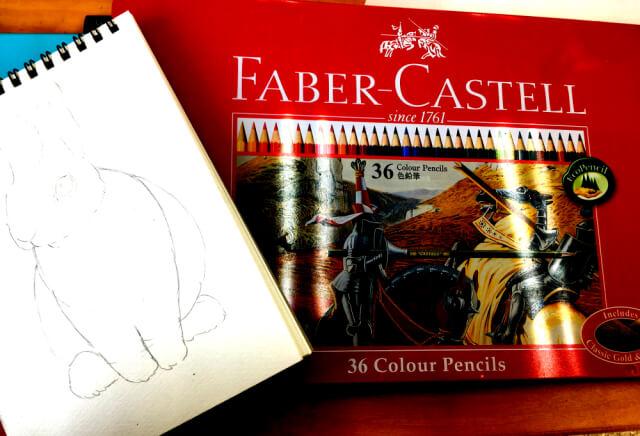イラスト 色鉛筆 手書き