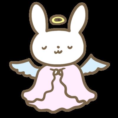 うさぎの寿命 天使